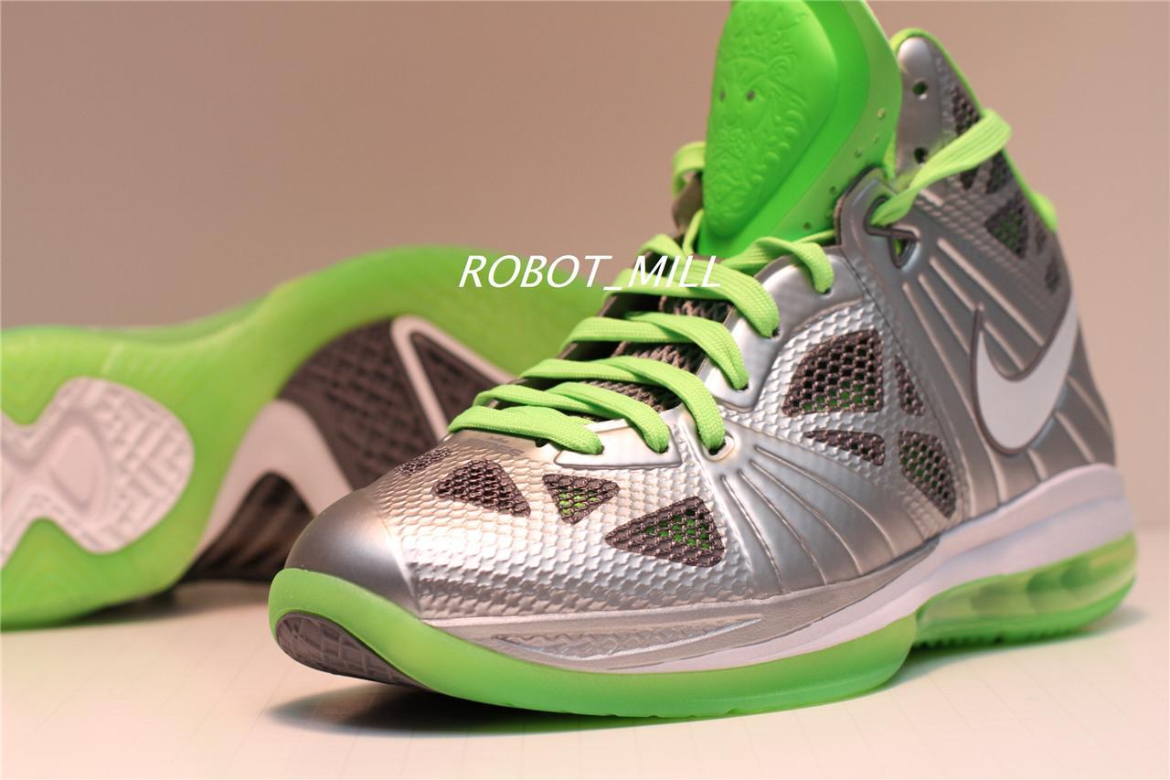 Nike-Lebron-VIII-8-P-S-Dunkman-Silver-Green-IX-9-Jordan-Kobe-IV-4-XI-11-Sz-9-5