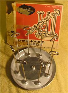 sunbeam carousel rotisserie broiler manual