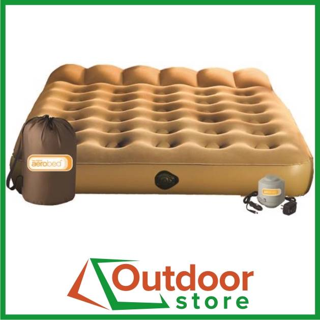 Aerobed Active QUEEN Inflatable Self Inflating Camp Air