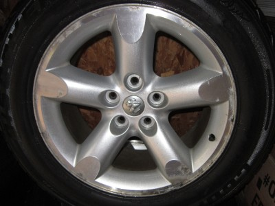 02 08 DODGE RAM DURANGO DAKOTA 20 WHEELS TIRES RIMS