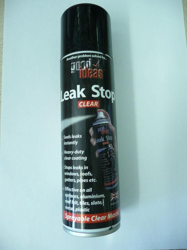 Leak Seal Spray : Fix stop a leak watertight clear seal spray sealent ebay