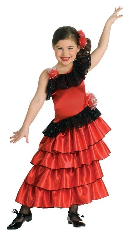 Traditional Spanish Dancer Costume Spanish flamenco princess