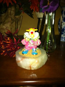 ron lee clown frankie clown balloon figurine l480ebay
