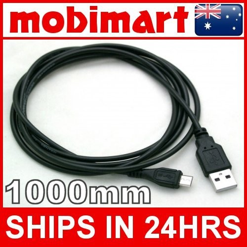 NOKIA-LUMIA-710-MICRO-USB-DATA-CHARGE-CABLE-1000MM-BLACK