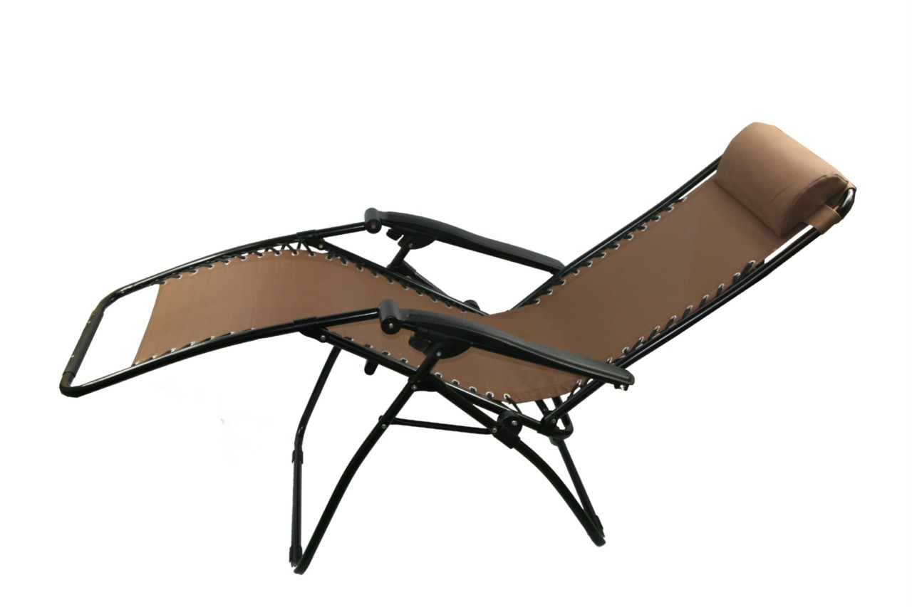 New folding Outdoor RECLINER Lounge Lounger Chair sun bed for beach pool camp