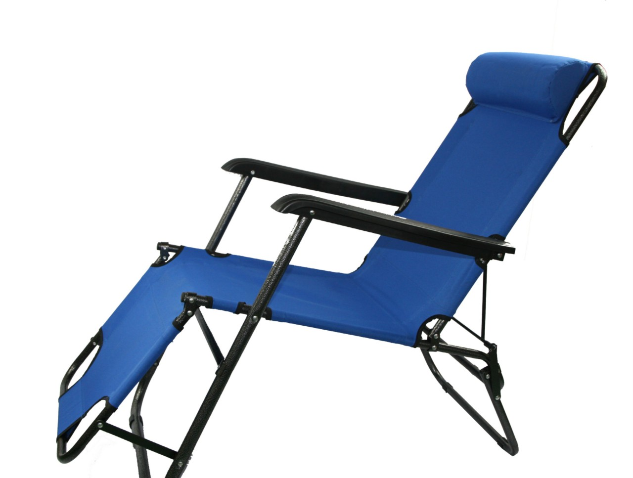 NEW light Portable Folding RECLINER Outdoor Lounge Chair sunbed for beach Poo