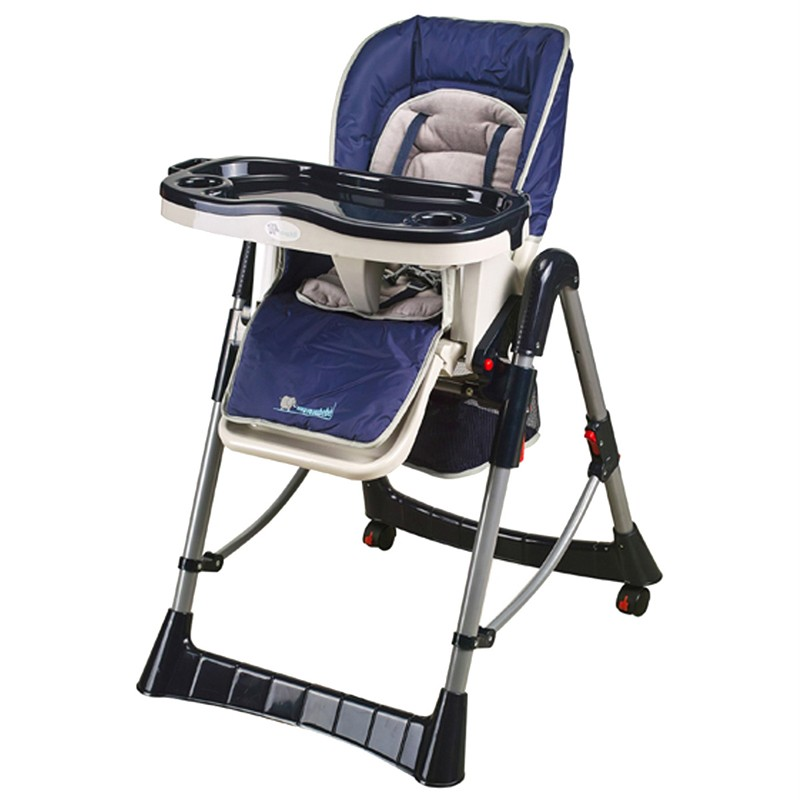 Baby Deluxe Portable fortable High Chair blue Red 2012