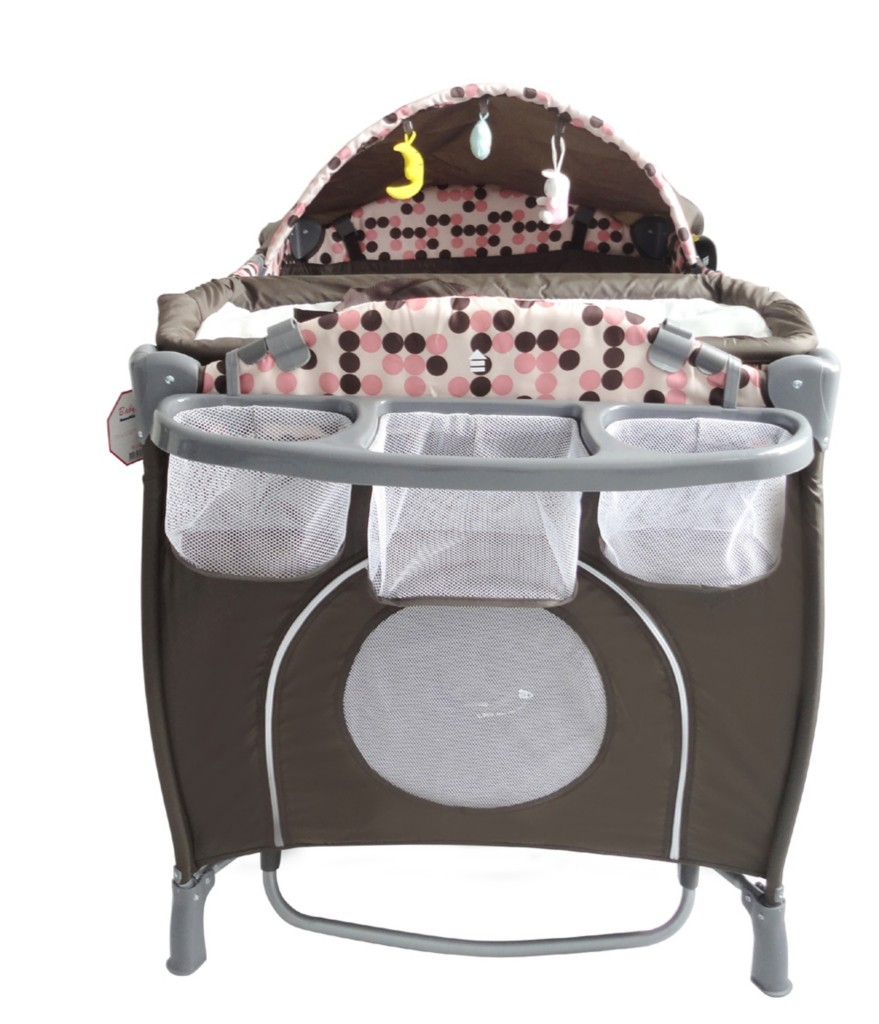 All In One Deluxe Baby Portable Travel Cot Portacot Playpen 2012 Model Bed Mattress Sale