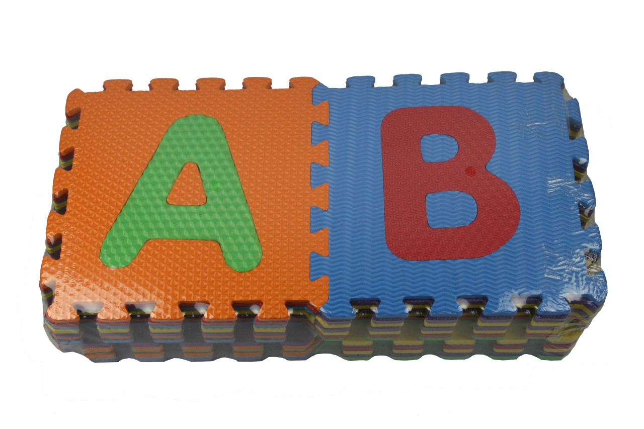 New 26 Pcs Baby Kids Abc Alphabet Puzzle Interlocking Eva