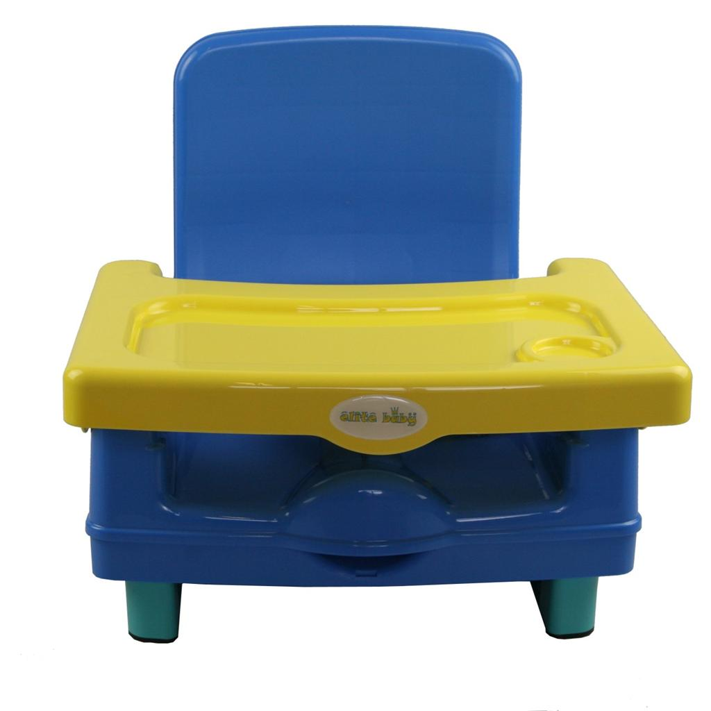 new elite baby toddler portable booster seat high chair feeding travel 2012 blue ebay. Black Bedroom Furniture Sets. Home Design Ideas