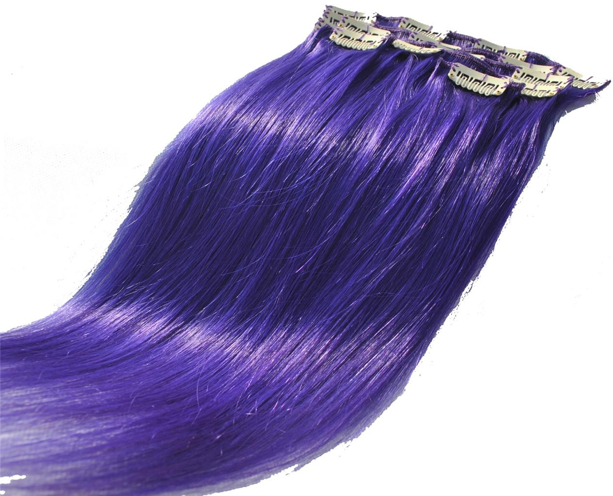 16-Clip-in-on-real-human-hair-extensions-remy-full-head-purple