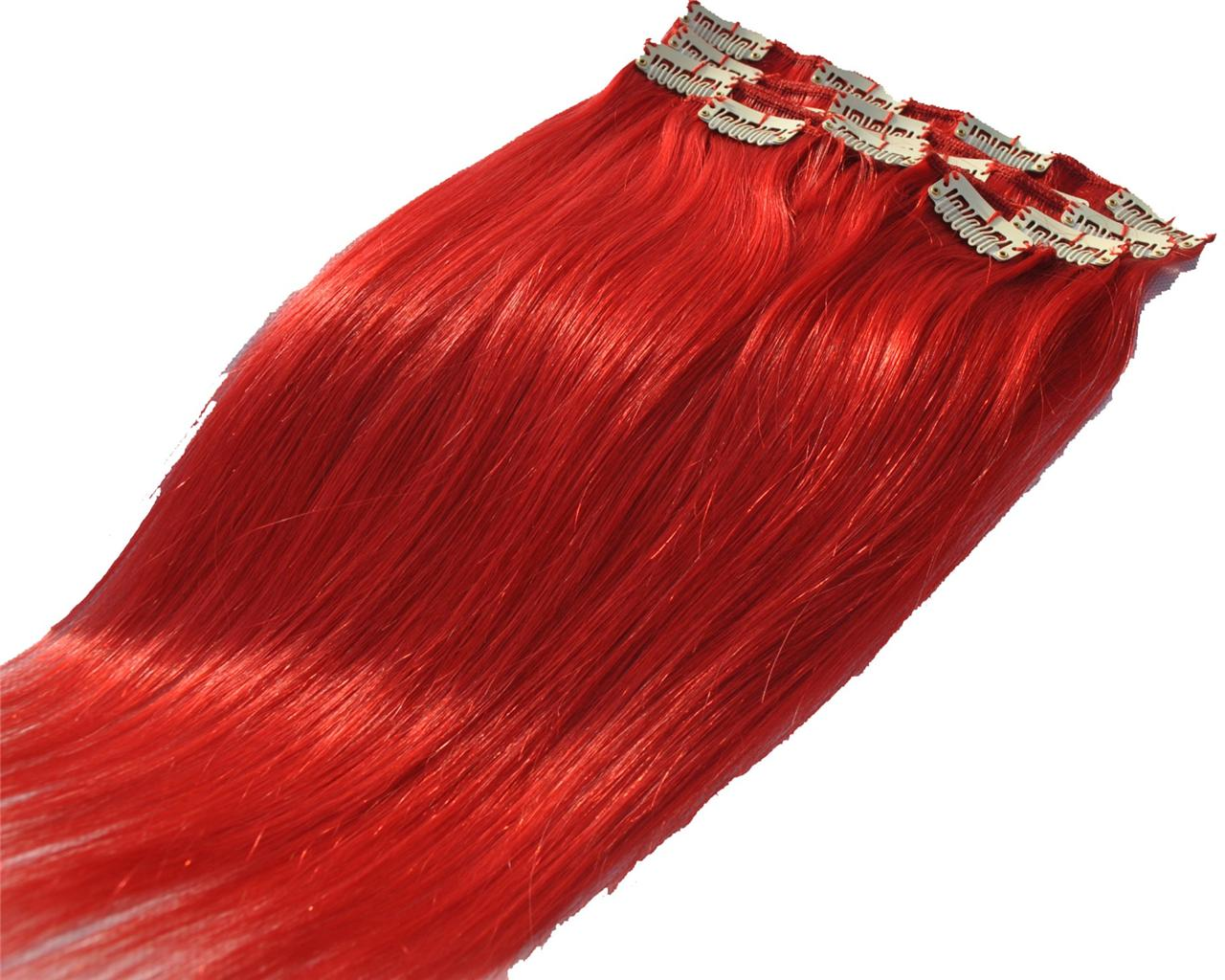 16-Clip-in-on-real-human-hair-extensions-remy-full-head-red