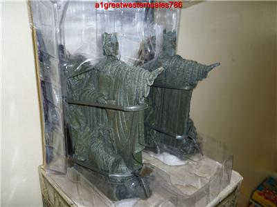 Sideshow weta lotr new argonath polystone bookends in original box ebay - Argonath bookends ...