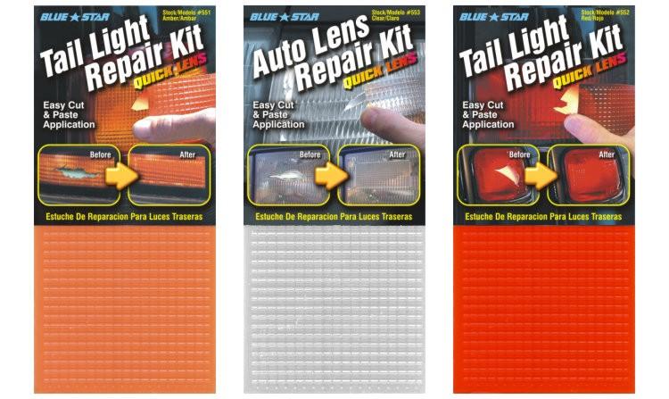Plastic tail light lens repair vancouver