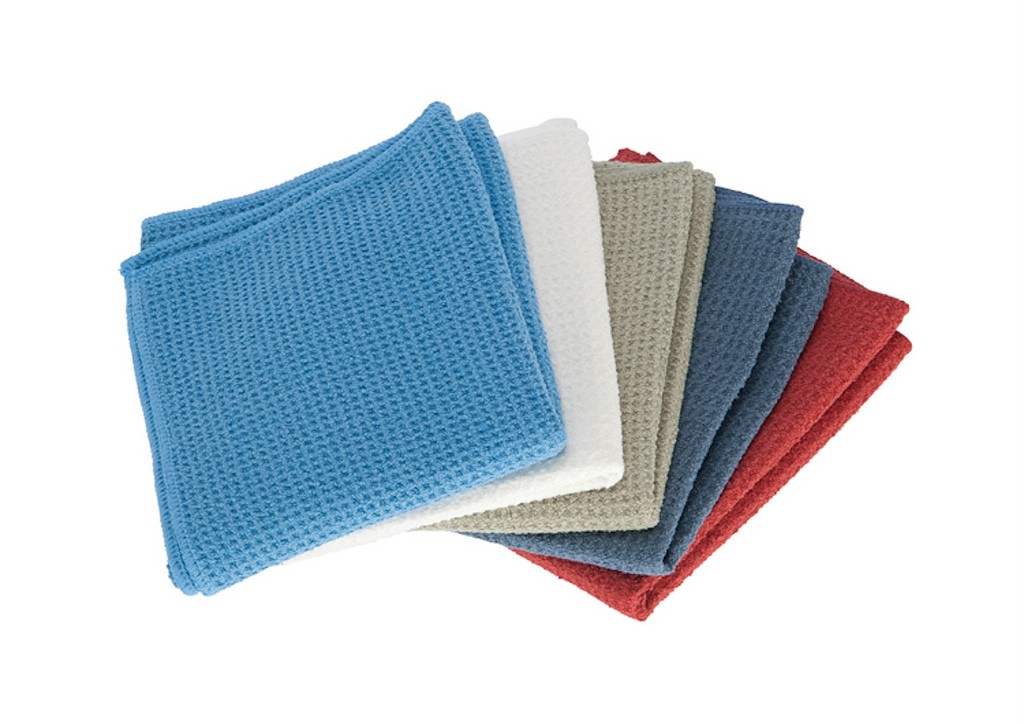 3 Pack Waffle Weave Microfiber Kitchen Dish Drying Towels