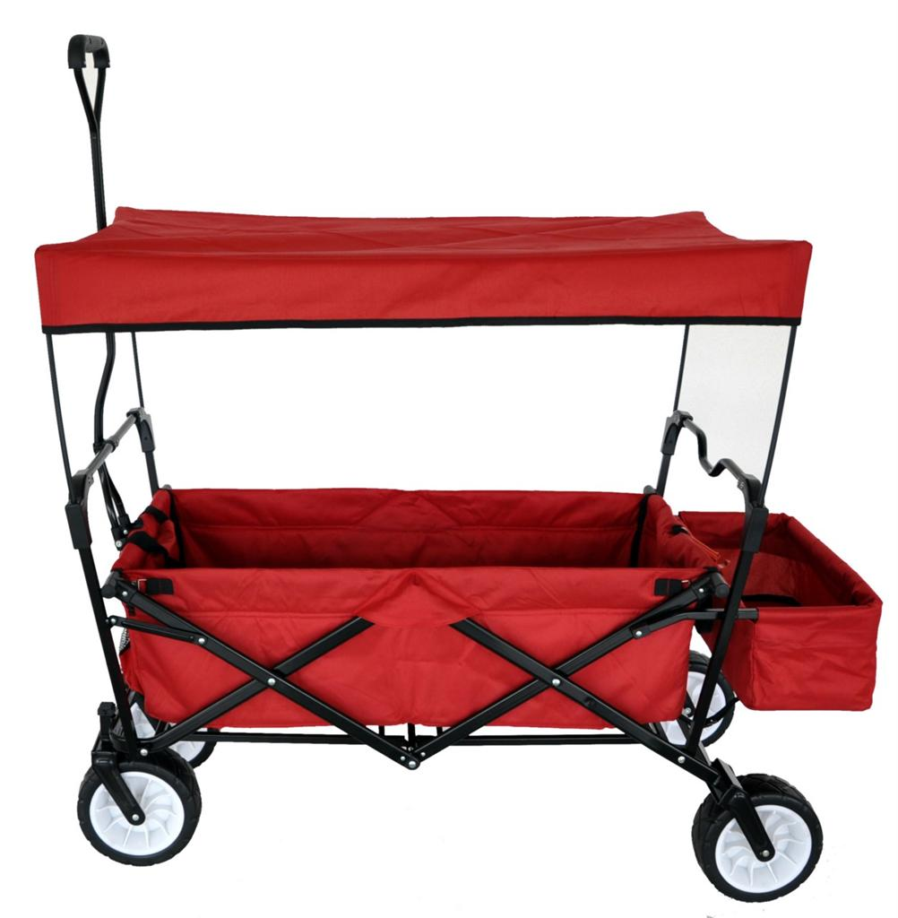 Canopy: Collapsible Wagon With Canopy
