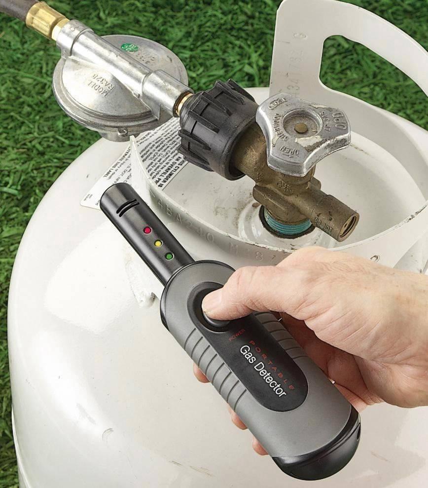 Portable Gas Leak Detector Propane Butane Methane Natural ...