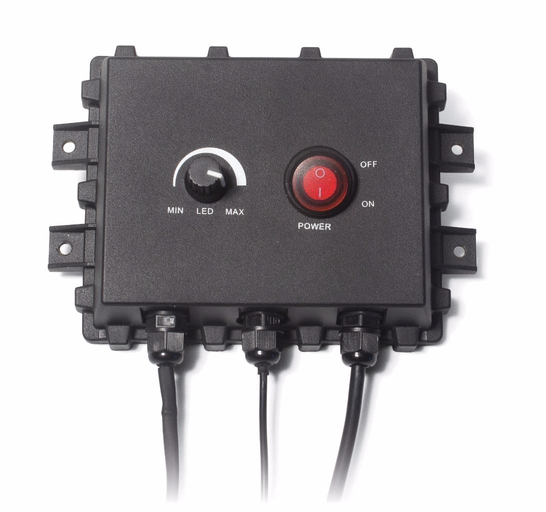 Aqua vu av multi vu box control box for underwater fishing for Underwater ice fishing camera