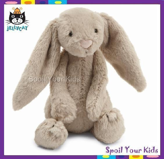 JELLYCAT-Bashful-Bunny-Rabbit-SOFT-teddy-bear-toy-Small-18cm-Beige-Plush-Easter