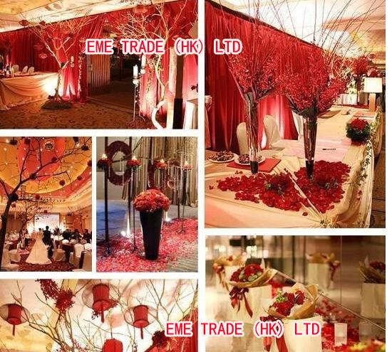 ... Rose Petals Wedding Decorations Flowers Church Marriage Favours hr001