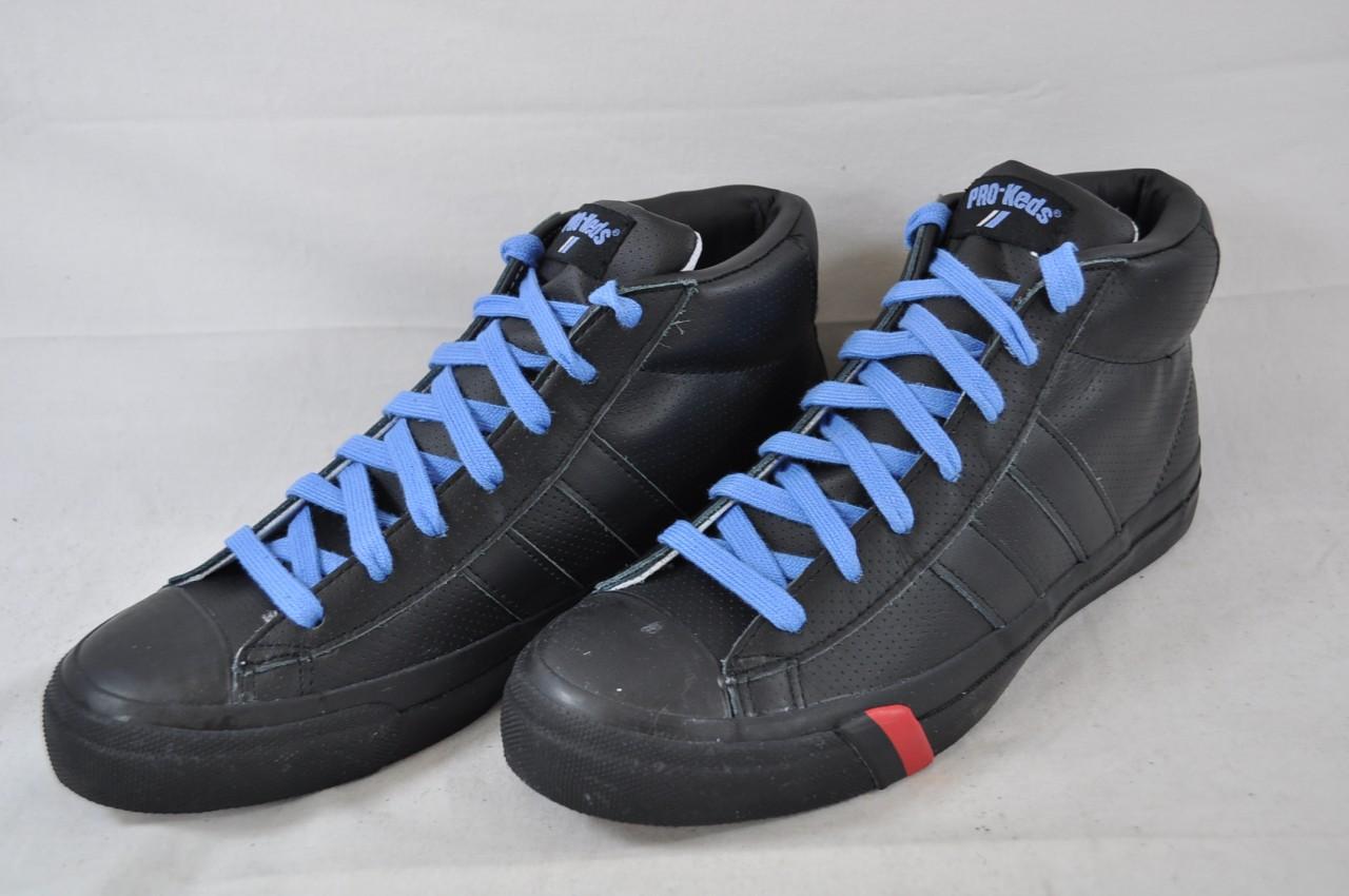 pro keds royal master mid lea black pml29618 athletic shoe