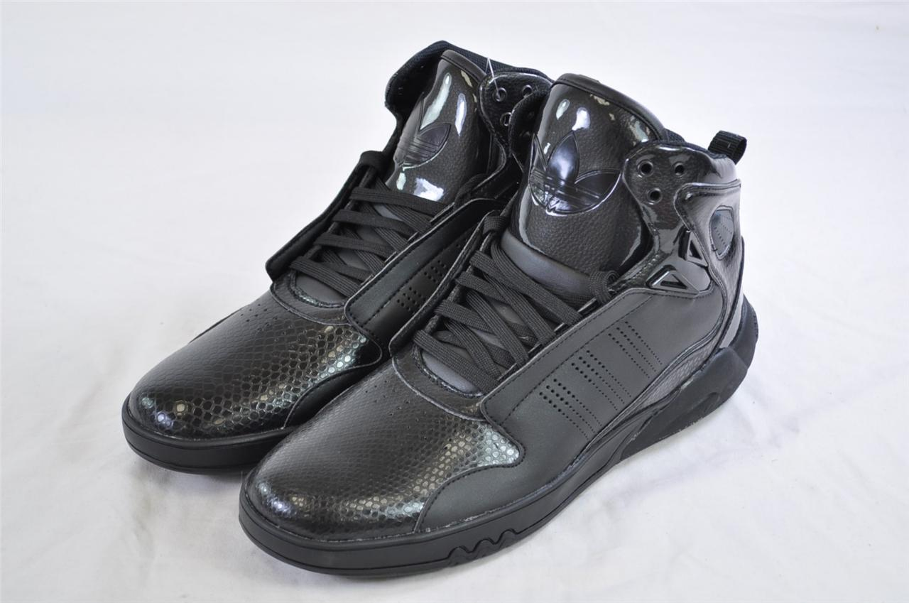 adidas roundhouse mid 2 0 g56230 black leather patent