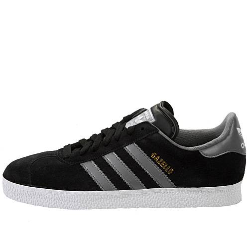 grey adidas gazelle mens