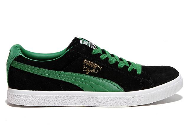Puma Suede Black And Green