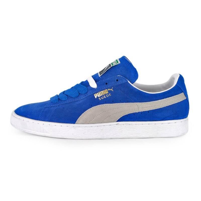 Puma Suede Blue White