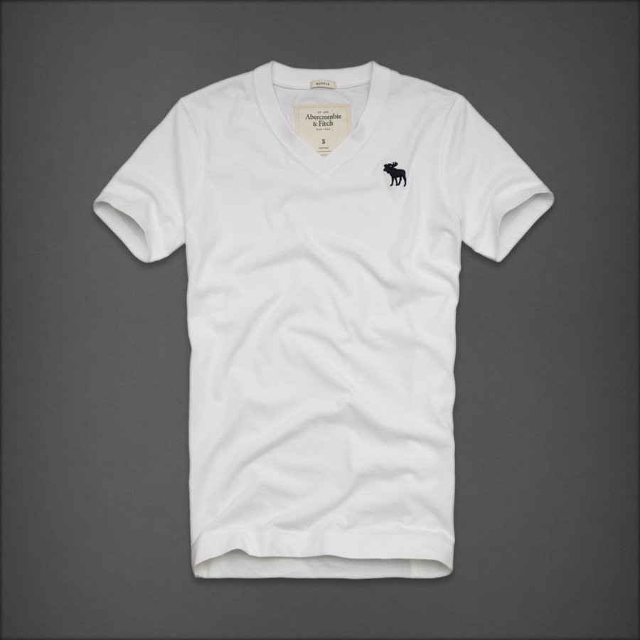 Abercrombie and fitch blue mountain v neck t shirts sizes for Abercrombie and fitch tee shirts