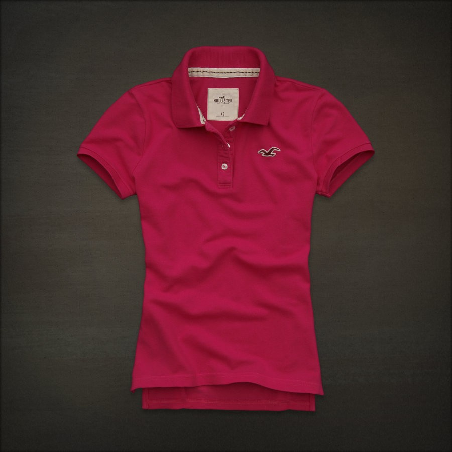 Hollister Women 39 S Crescent Bay Polo Pique Shirts Nwt Ebay