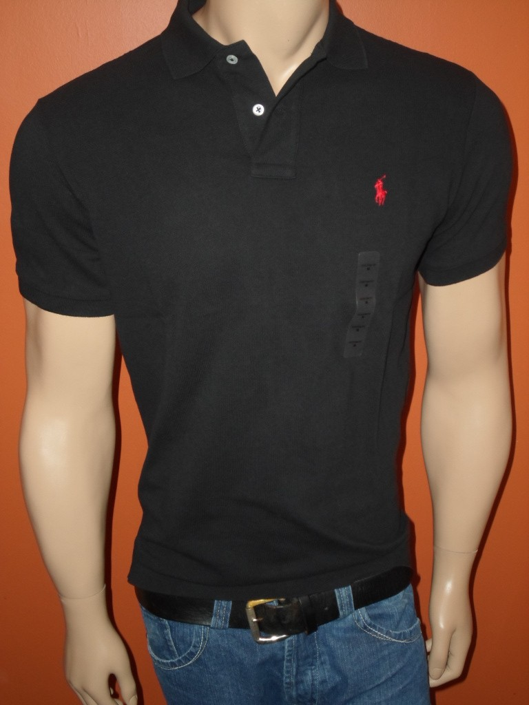 Nwt polo ralph lauren custom fit mesh solid shirts all for Ralph lauren custom fit mesh polo shirt