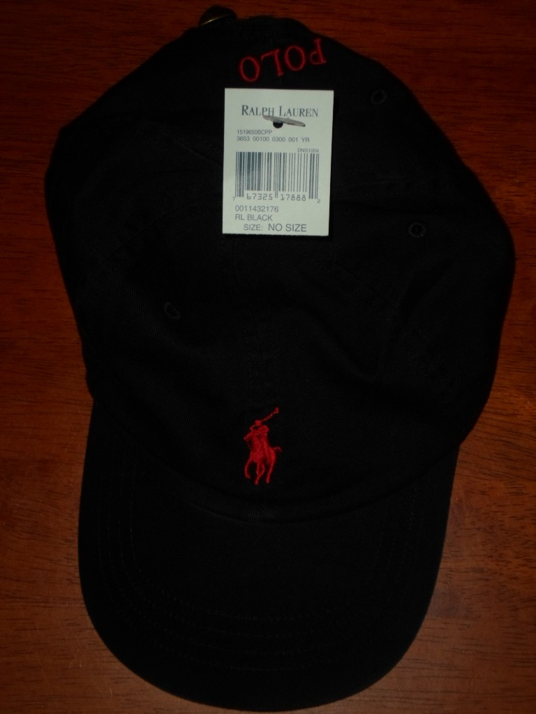 nwt new polo ralph lauren adjustable baseball cap hat assorted colors one size ebay. Black Bedroom Furniture Sets. Home Design Ideas
