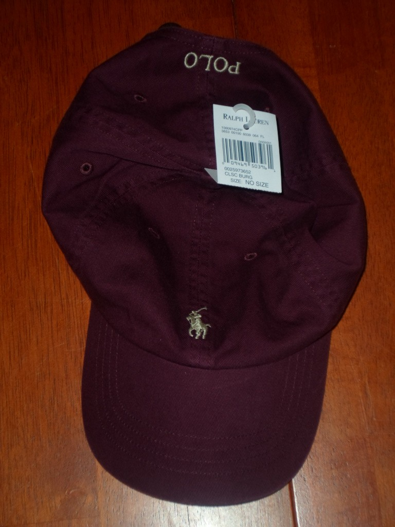 NWT-NEW-POLO-RALPH-LAUREN-ADJUSTABLE-BASEBALL-CAP-HAT-ASSORTED-COLORS-ONE-SIZE