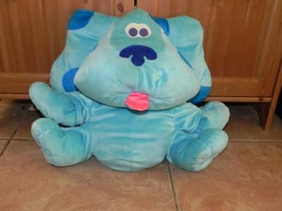 blues clues large talking stuffed animal plush blue the dog ebay. Black Bedroom Furniture Sets. Home Design Ideas