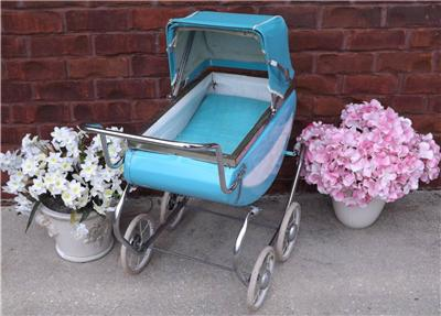 Vintage decorative metal carriage there are