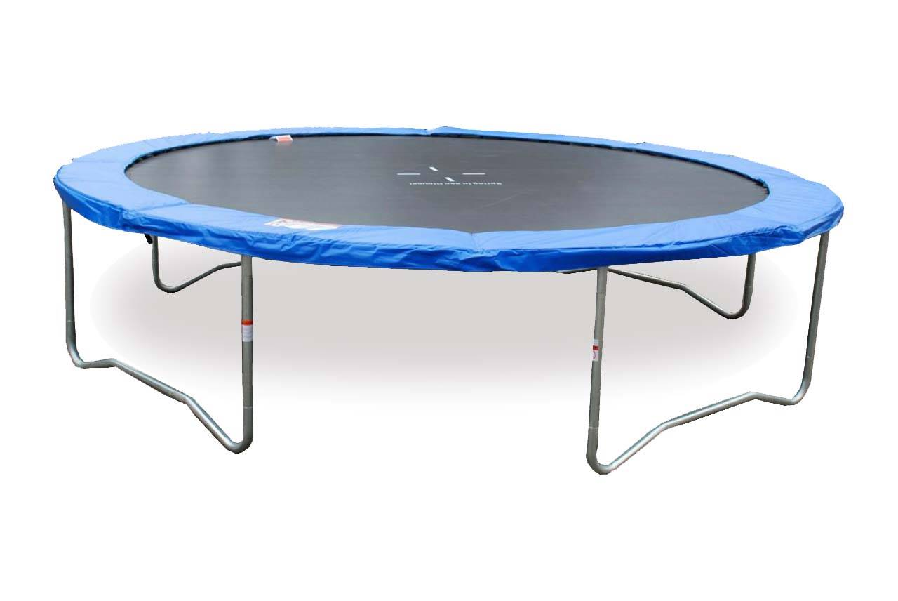 New Trampoline 12ft Round Ladder Mat Without Safety Net