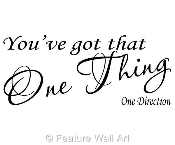 One Direction Song Lyric Drawings One Thing Song Lyrics