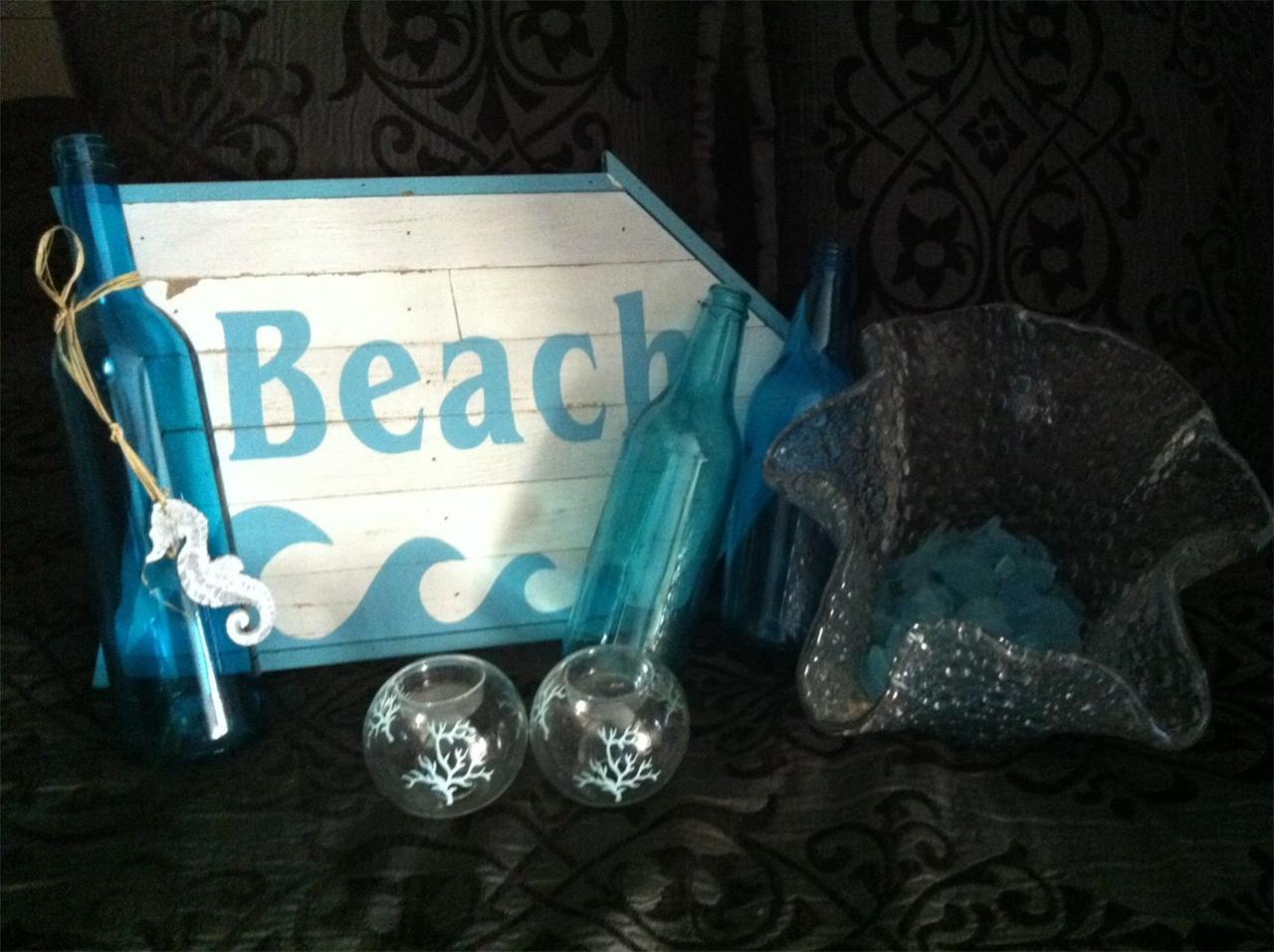 seashell nautical ocean beach diy themed home designer style decor