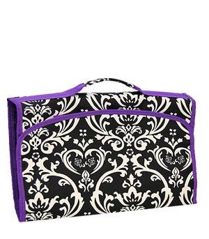cosmetic jewelry bag organizing hanging zip up zipper makeup pouch travel case ebay. Black Bedroom Furniture Sets. Home Design Ideas