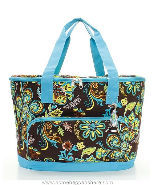One 20 034 xl cooler bag insulated thermal beach picnic tote lunch box