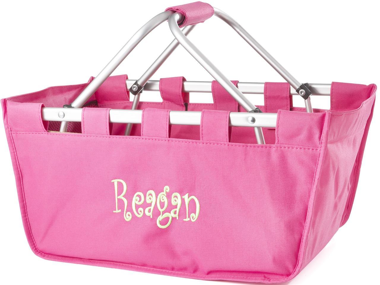 Monogram Tote Bags Monogram Market Tote Basket