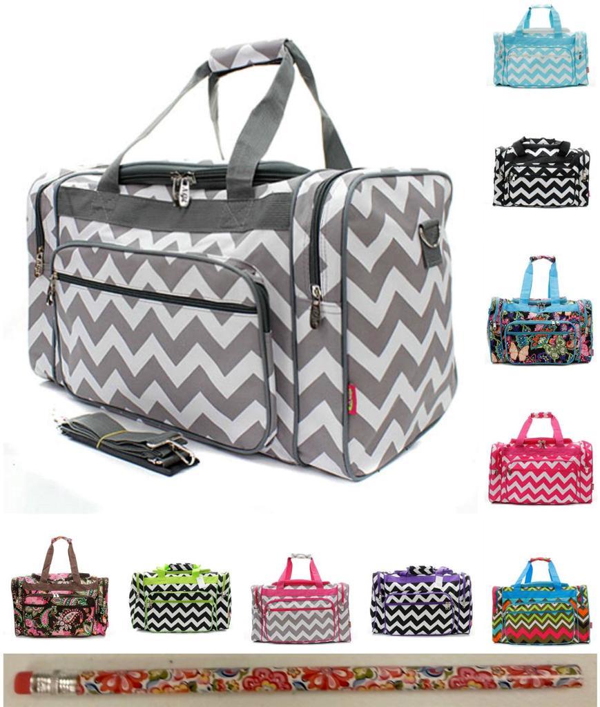 """Gym Bag Vera Bradley: 20"""" DUFFLE BAG Tote Gym Overnight Carry On Travel Handbag"""