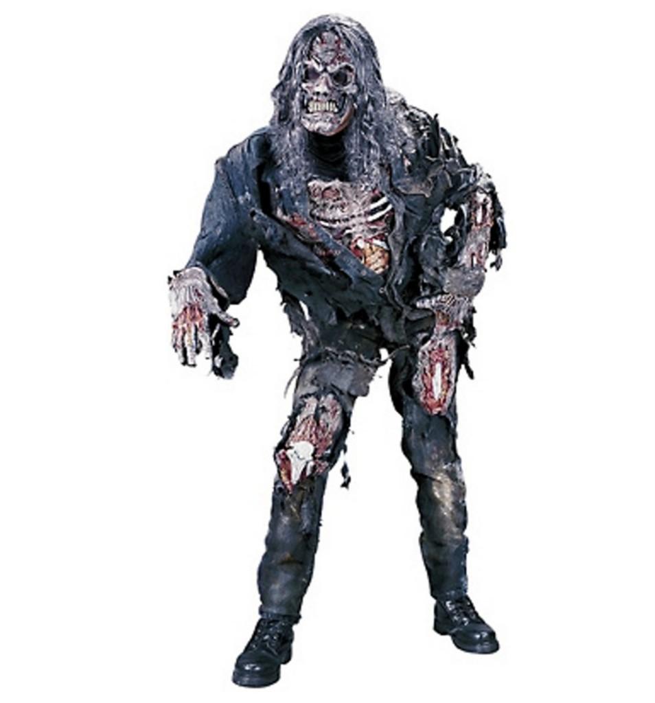 deluxe 3d zombie 4 teile herren kost m ebay. Black Bedroom Furniture Sets. Home Design Ideas