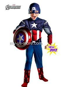 marvel captain america the avengers muskel kinder kost m. Black Bedroom Furniture Sets. Home Design Ideas