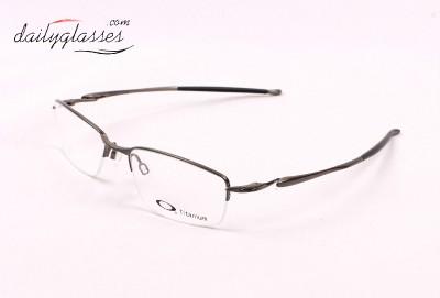 Eyeglass Frame Ear Cushions : OAKLEY TRANSISTOR EYEGLASSES FRAME 22-216 BRUSHED CHROME ...