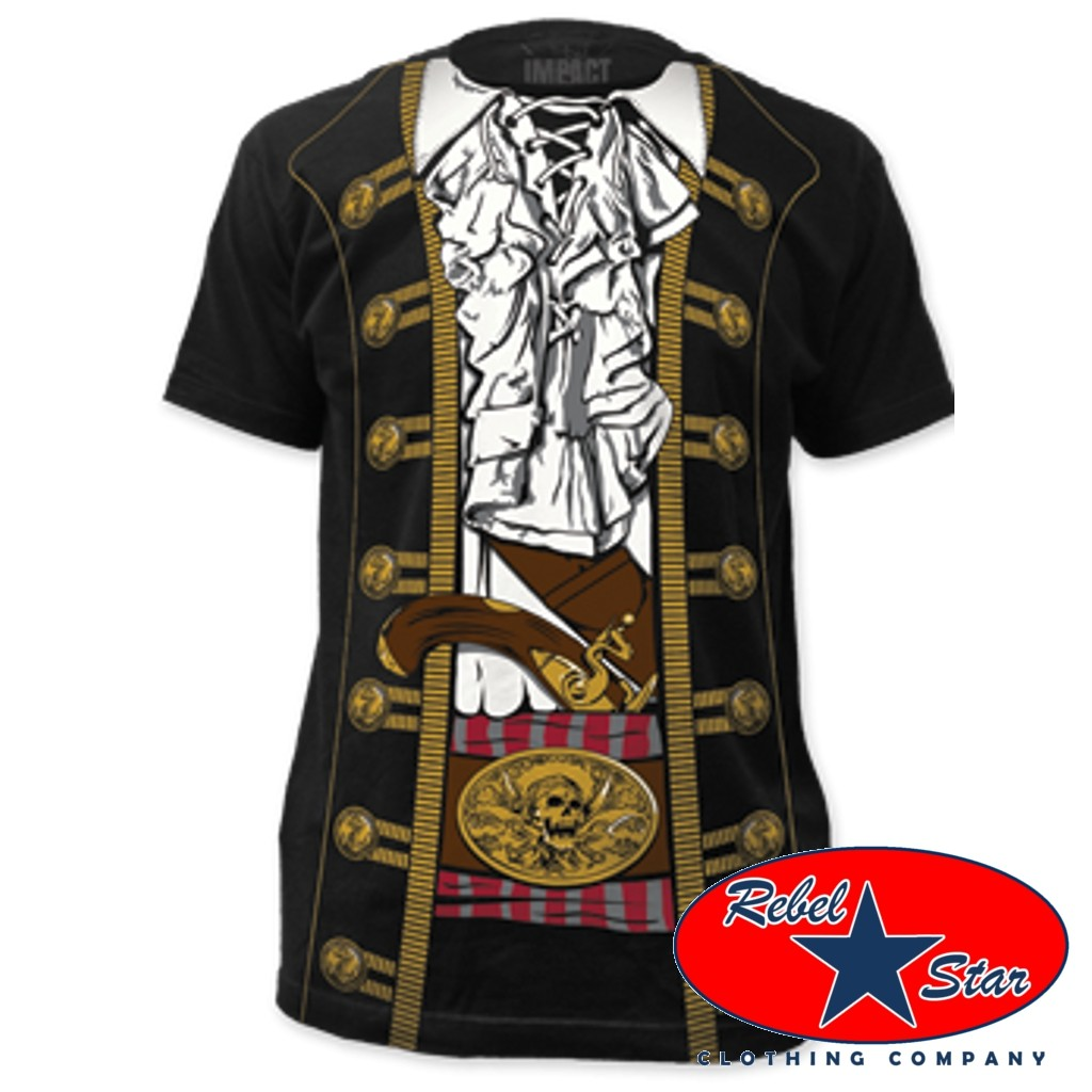 Pirate costume t shirts