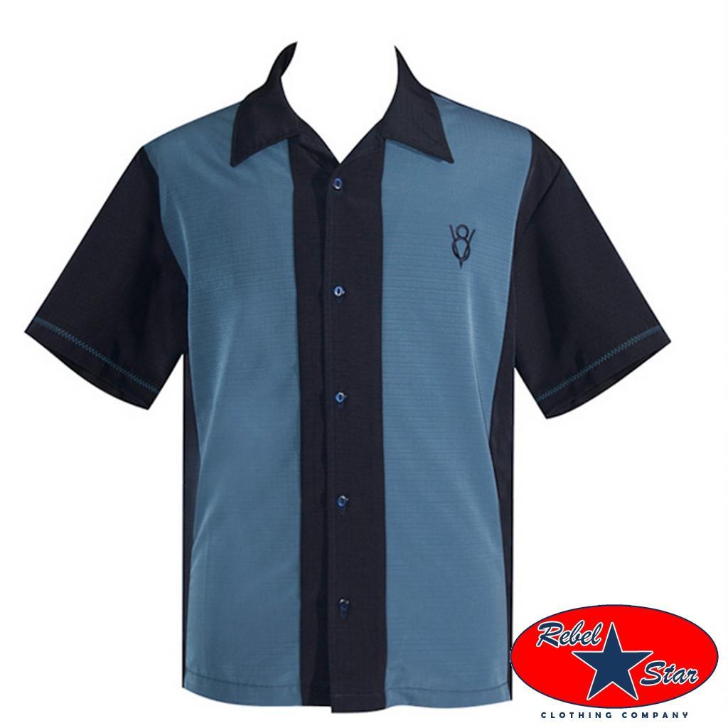 Boss-Lounge-Shirt-Rockabilly-Retro-50s-60s-Sheen-Casual-Steady-Tattoo-V8-Bowling