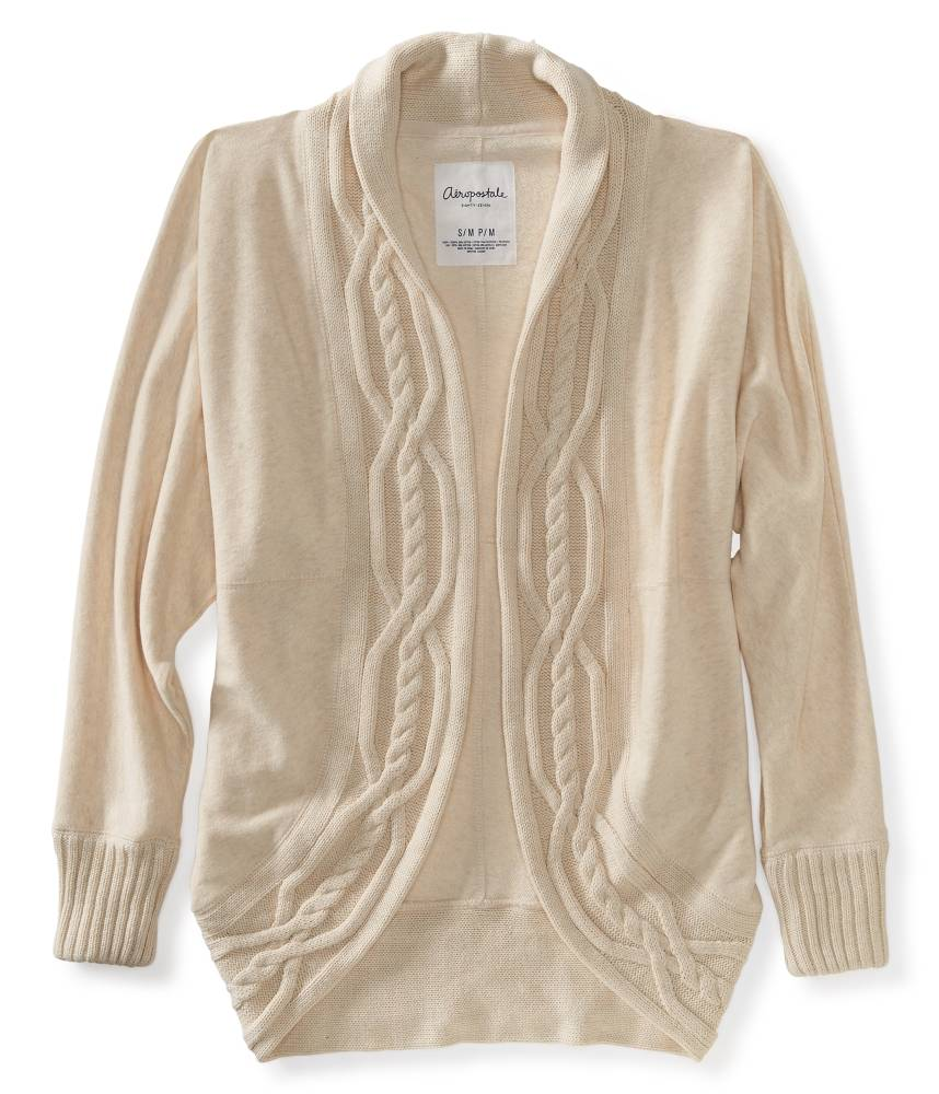 Knitting Pattern Cocoon Cardigan : Aeropostale Cable-Knit Cocoon Cardigan MSRPUSD54.50 eBay
