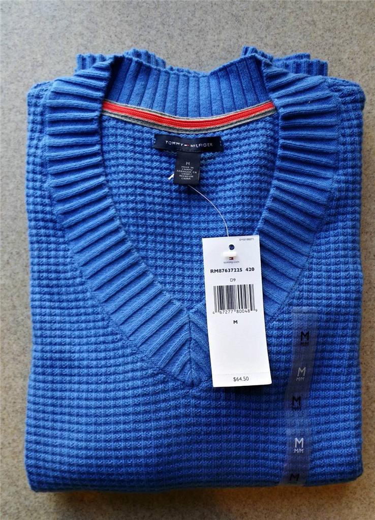 tommy hilfiger women 39 s long sleeves v neck sweater retail. Black Bedroom Furniture Sets. Home Design Ideas
